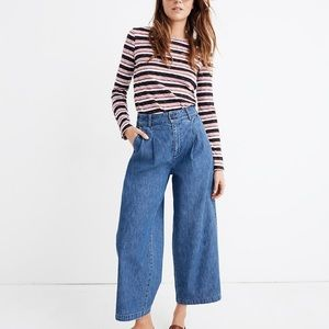 Madewell pleated Jeans